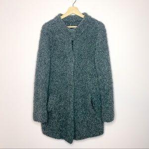 Marc Cain Alpaca & Wool Grey Jacket Cardigan Small